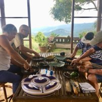 Cooking class with a view at Puri Lumbung