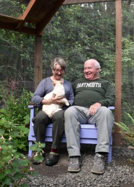 Lynn and Jim McIntyre enjoying time with Tresco
