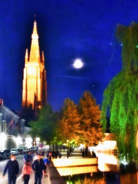 Moonlight over Brugge