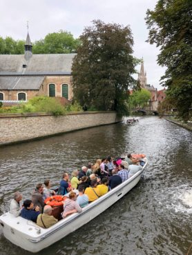 Boat cruise on the inner canal
