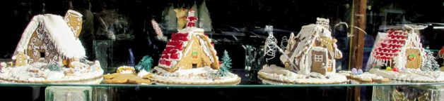Sluys Bakery's gingerbread houses