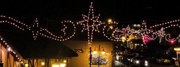 Poulsbo's Christmas street lights