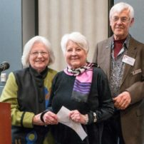 Carla O'Connor, Best of Kitsap, with Noelle Osborn and Alan Newberg