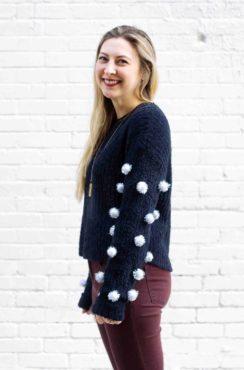 LightWorkers Pom-Pom Sweater