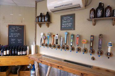 Beer garden taps at Al's Market