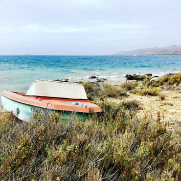 Quiet and deserted beach, Antiparos