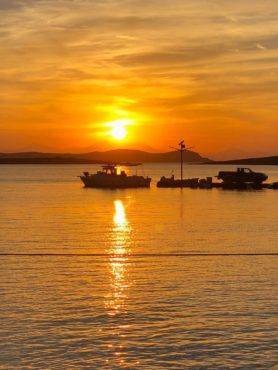 Sunset in Antiparos