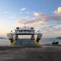 Ferry between Paros and Antiparos