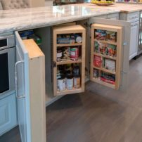 Base cabinet by Chef's Pantry (Photo courtesy A Kitchen That Works LLC)