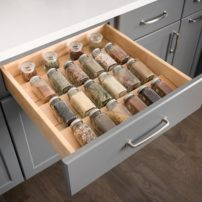 Spice-rack drawer insert by Hardware Resources