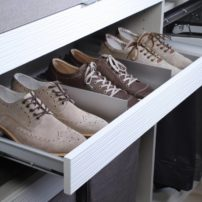 Engage horizontal shoe organizer by Hafele