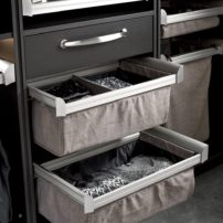 Engage deep closet drawers by Hafele