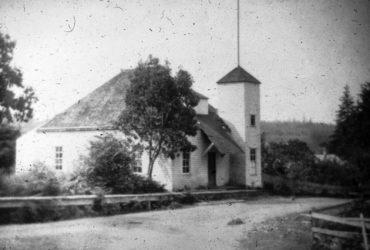 Then: Vaughn Library Hall circa 1905