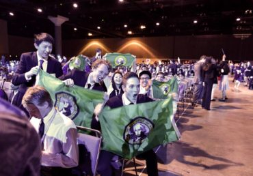 WSSEF students representing Washington state at ISEF