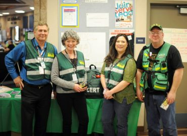 CERT volunteers at WSSEF
