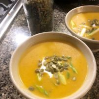 Thai Style Butternut Squash Soup