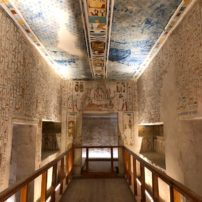 Tomb chamber, Valley of the Kings