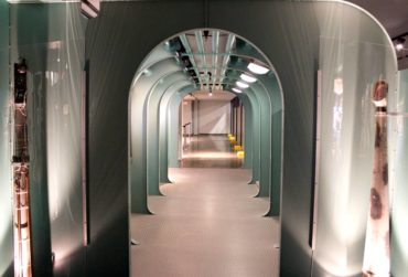 Submarine passageway mock-up