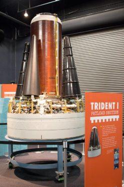 Trident warhead trainer model