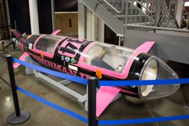 Human-powered submarine for racing