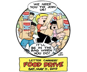 United Way - Letter Carriers Food Drive