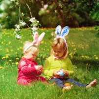 Easter Lawn
