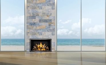 Full View Decór FV-42 Traditions gas fireplace by Mendota