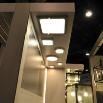 A new take on ceiling-mounted lighting by Tech Lighting