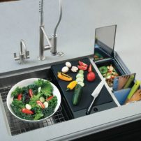 Chef Center sink by Franke