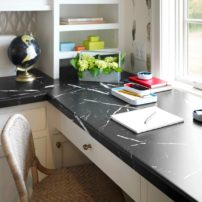 Formica laminate in Nero Marquina