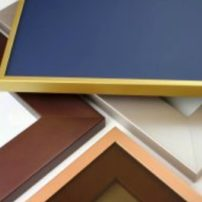 New metal finishes for cabinet doors and shelving units by Element Designs