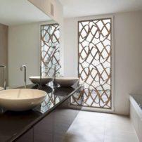 Decorative window treatment by Tableaux Decorative Grills