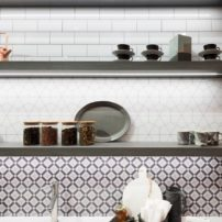 DIY acrylic backsplash options by Wilsonart