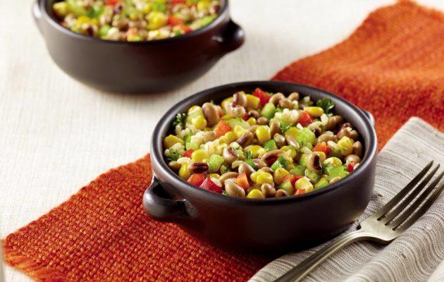 Black-Eyed Pea, Corn and Rice Salad