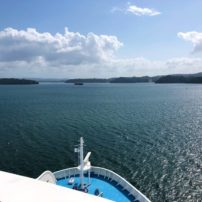 Cruising Gatun Lake