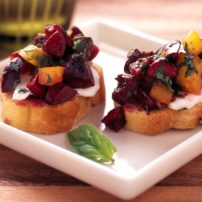 Cherry Bruschetta (Photo courtesy Northwest Cherry Growers)
