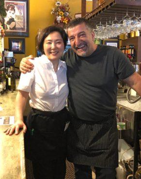 Owners Azusa Hirasawa and Michele Simone