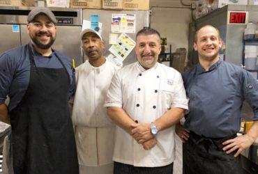 Left to right: Alex Marshall, George Jones, Michele Simone, Lorrenzo Torretta