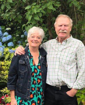 Judi Cleghorn and her husband, Rick Gudmunson