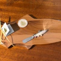 WOODEN FISH TRAY