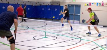 Indoor court in Anacortes (Photo courtesy Richard Walker)