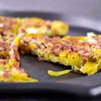 spanish potato onion omlette