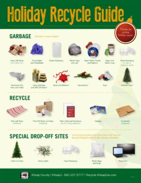 Holiday Waste Guide