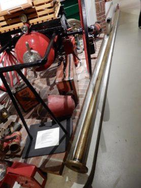 Brass firepole