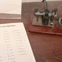 Telegraph and Morse code sheet