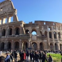 The Colosseum, the most iconic structure from Ancient Rome