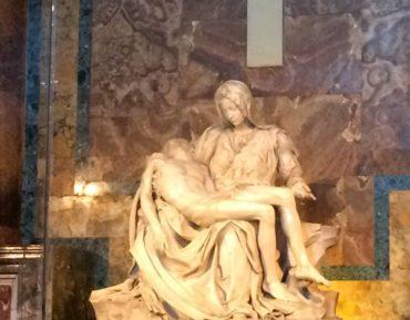 Michelangelo's famous Pieta in St. Peter's
