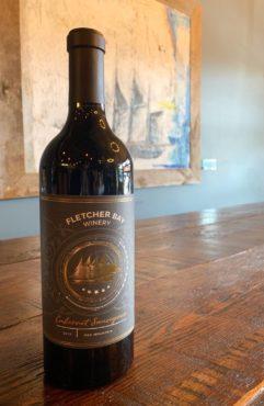 Fletcher Bay Winery's 2017 Cabernet Sauvignon (Photo courtesy Tori Tweed)