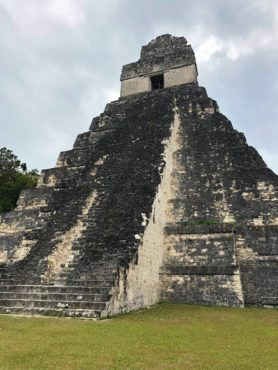 Tikal Mayan temple and UNESCO Heritage Site