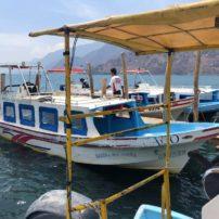 Water taxi on Lake Atitlan